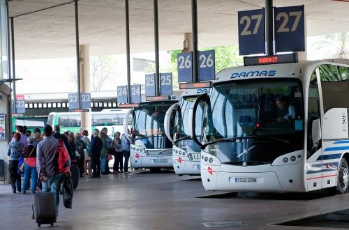 autocares y viajeros