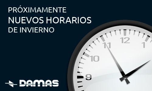 HORARIOS DE INVIERNO 2020-21