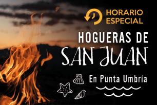 Horario Especial Hogueras San Juan