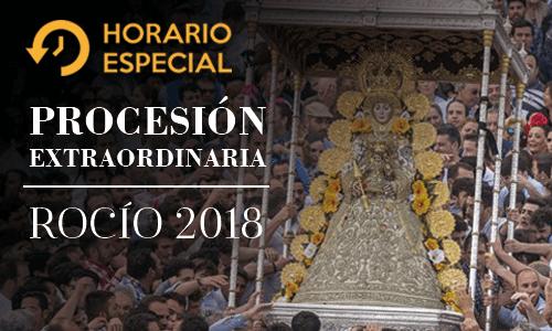 Procesión Extraordinaria Virgen del Rocío
