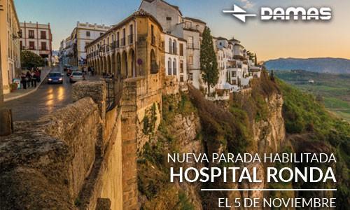 Nueva parada Hospital de Ronda para días laborables