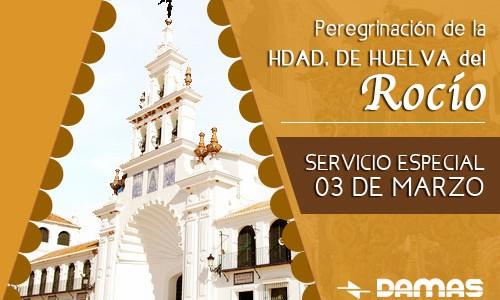 PEREGRINACIÓN DE LA HERMANDAD DE HUELVA AL ROCÍO