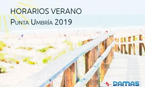 HORARIOS DE VERANO PUNTA UMBRÍA