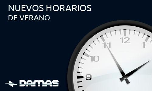 HORARIOS DE VERANO 2020